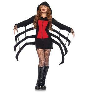 NEW Leg Avenue Cozy Black Widow Spider Costume